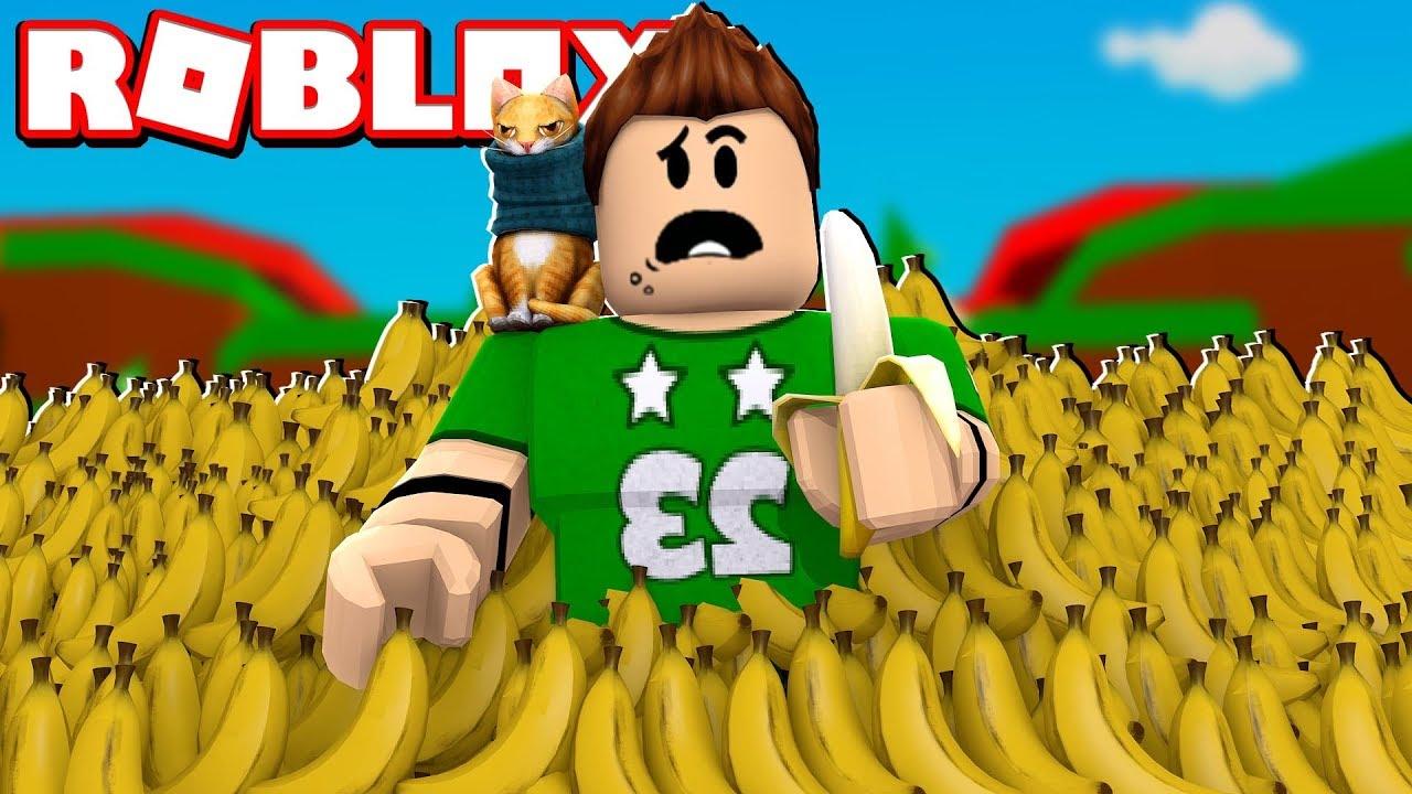 Nos Comemos 9 999 999 Bananas En Roblox Roblox Banana Simulator