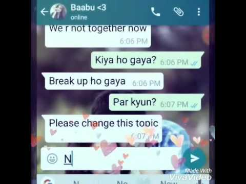 girl and boy chat conversation