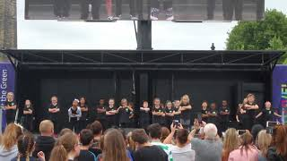 5-7 years old and performing at the European Championships  | Glasgow Green | Achieve More!