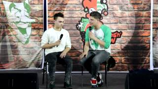 Саша Сас и Саша Губин на Jokes'n'Show в Туле 4 апреля 2014