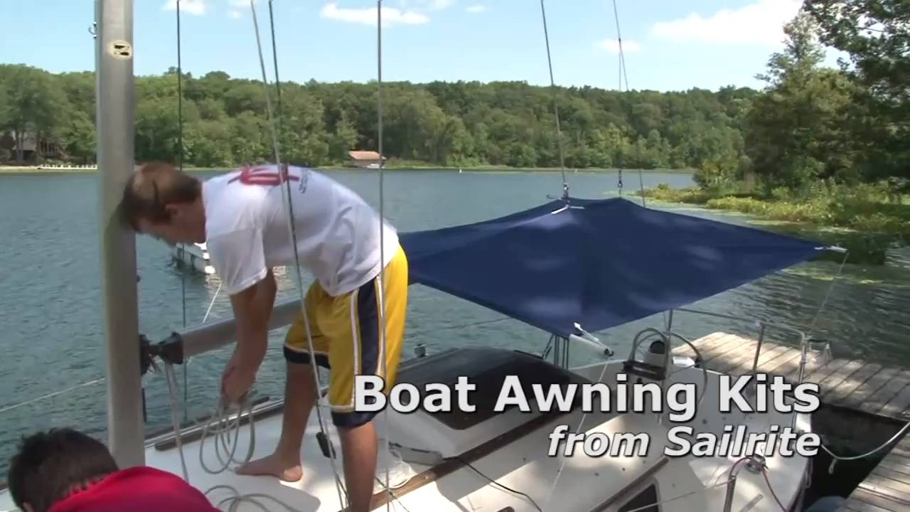 Boat Awning Kits Demonstration Youtube