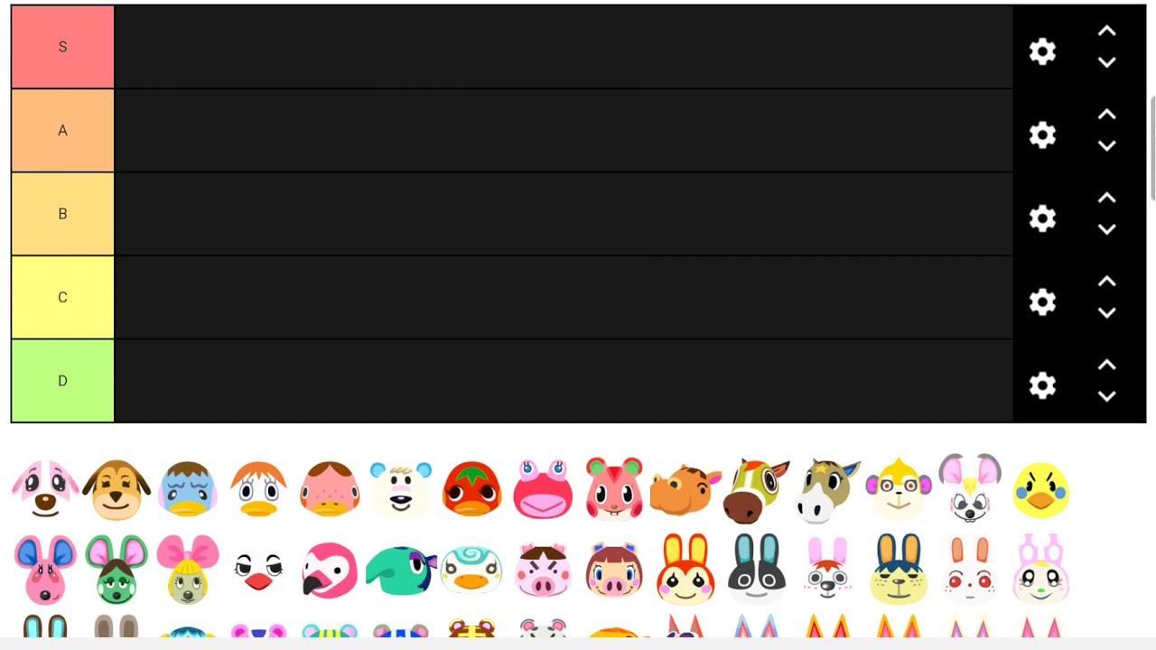 Ranking Every Peppy Villager In Animal Crossing Youtube
