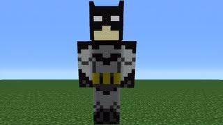 Minecraft 360: How To Make A Batman Statue