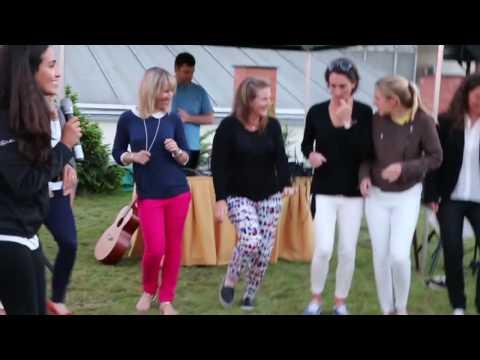 Pro Women Golfers get a Rio 2016 lesson in Samba dancing!
