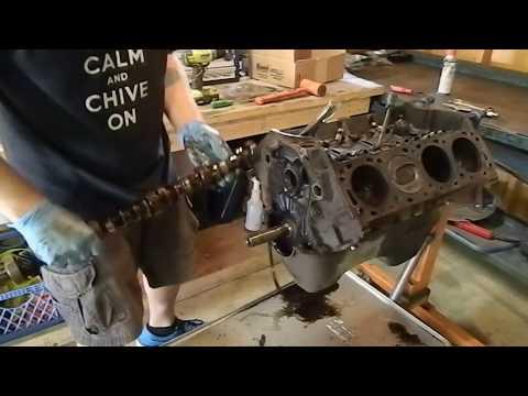 1969 F100 engine build begins