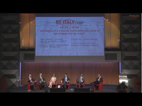 RE Italy, i convegni integrali: Valutazioni e rischio immobiliare: cosa ci ha insegnato la crisi?