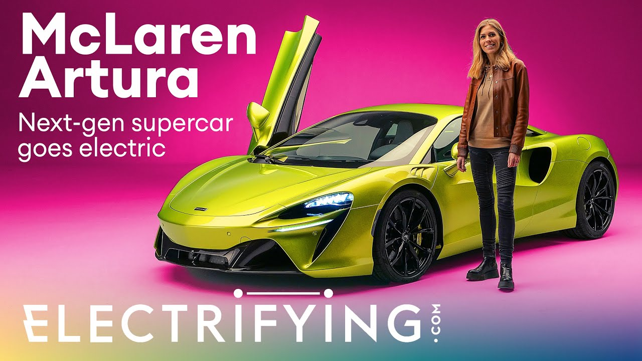 McLaren Artura 2021 in-depth walkaround: McLaren builds a plug-in hybrid supercar! / Electrifying