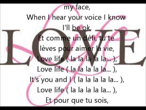 Love life John Mamann feat Kika - Lyrics