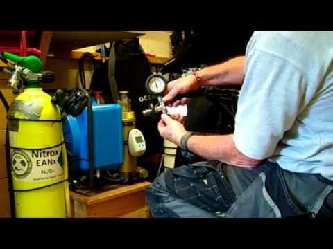My Junior II, Bauer Compressor  - YouTube