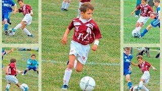 Amazing 7 year old soccer player! Charlie Bontis