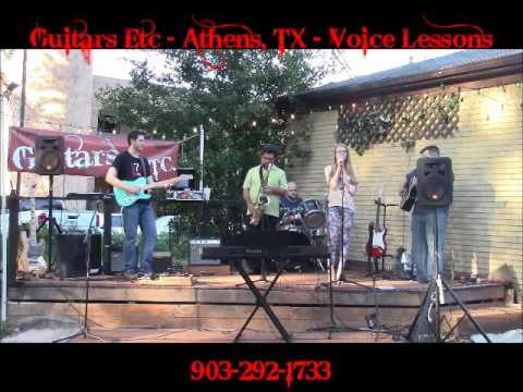 Kyleigh White at Guitars Etc in Athens TX Hallelujah Cover