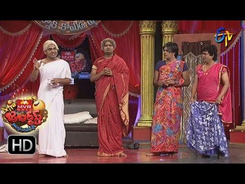 Sudigaali Sudheer Performance | Extra Jabardsth | 24th February 2017 | ETV  Telugu
