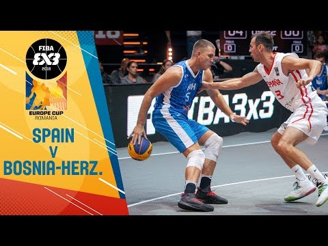Spain v Bosnia and Herzegovina - Full Game - FIBA 3x3 Europe Cup 2018