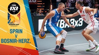 Spain v Bosnia and Herzegovina - Full Game - FIBA 3x3 Europe C…