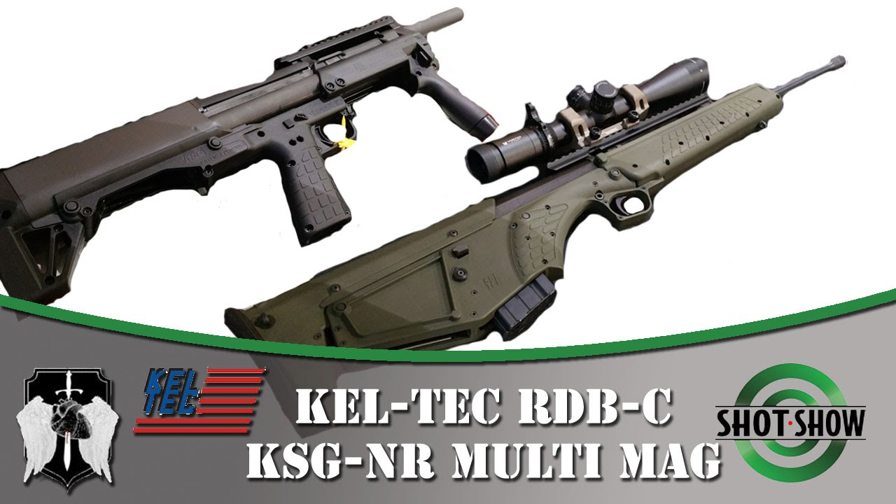 KEL-TEC KSG Shotgun Modifications (or Upgrades) - YouTube