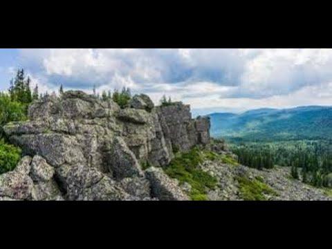 Весь Южный Урал_56 Хребет Сухие горы. Гора Каменный Форфос.