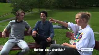 Ylvis speaking Dutch-ish