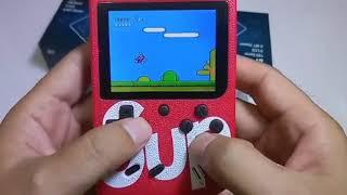 Trên tay mục sở thị SUP mini game - Máy chơi 168 game thần thánh