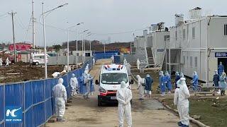 Inside Wuhan: Coronavirus hospital takes in patients