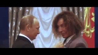 видео Путин спел дуэтом с Валерием Леонтьевым