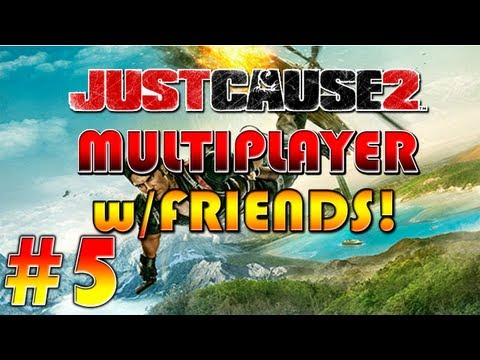Just Cause 2 Multiplayer w/ Sonic & Friends | Ep.5 | Helicopter FLIPOUT! |