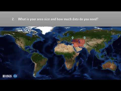 Choosing a Data Access Tool: AppEEARS Area Sampler