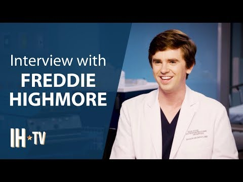 The Good Doctor Season 3 (ABC) Freddie Highmore Exclusive Interview
