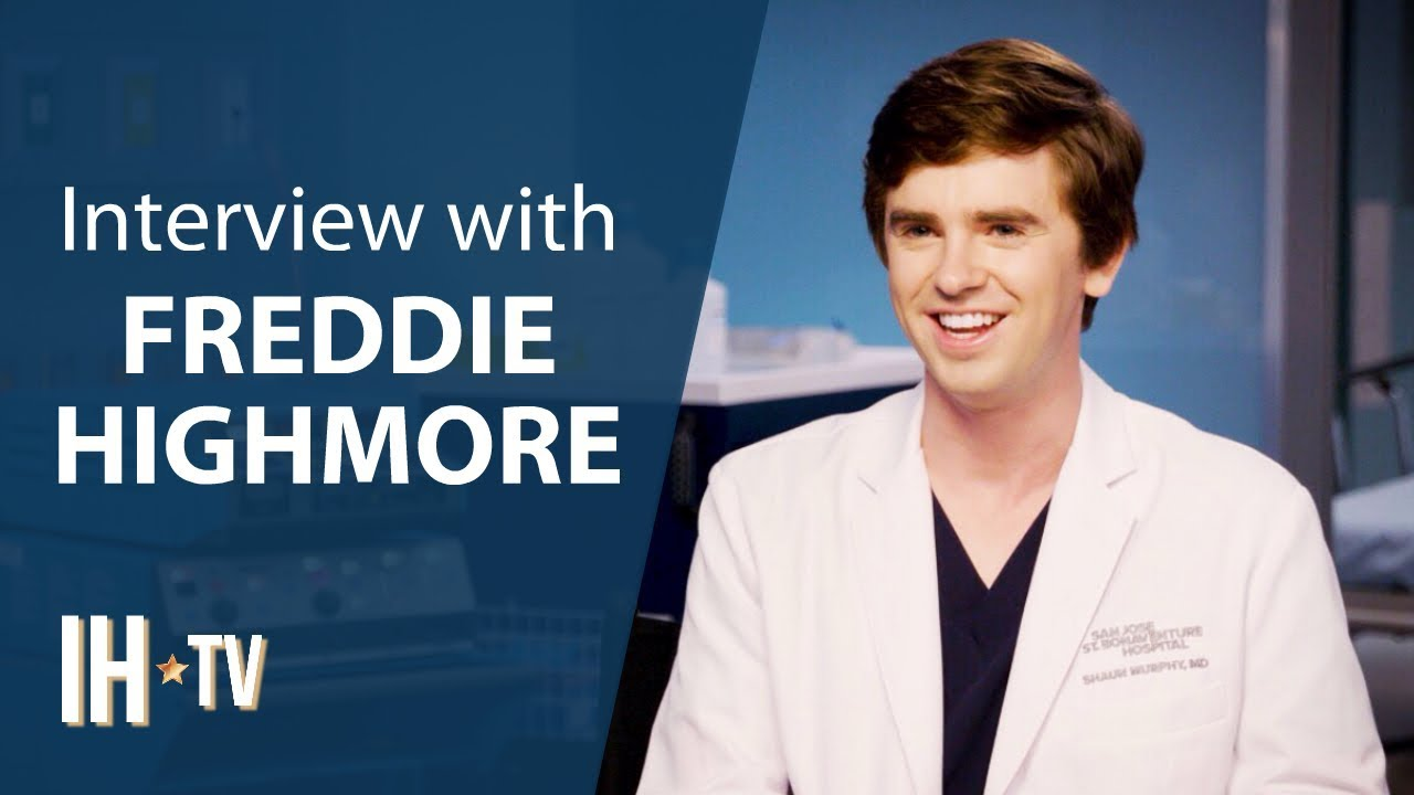 Download The Good Doctor Season 3 (ABC) Freddie Highmore Exclusive Interview