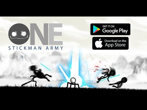 ONE STICKMAN ARMY Gameplay Trailer