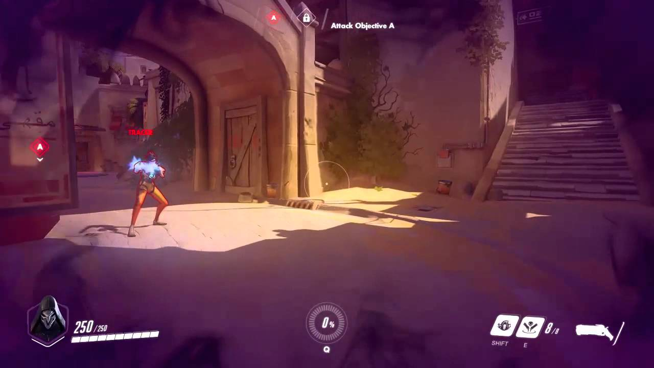 Overwatch: Reaper - Wraith Form (Ability Preview) - YouTube