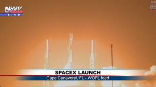 LIFT OFF!: SpaceX Launch Falcon 9 from Cape Canaveral, FL (FNN)