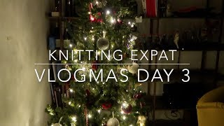 Please & Thank You - Vlogmas Day 3 - Knitting Expat