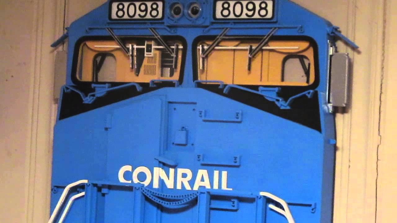 My Stoddartu0027s 3D Locomotive Conrail Wall Art Norfolk Southern Heritage & My Stoddartu0027s 3D Locomotive Conrail Wall Art Norfolk Southern ...
