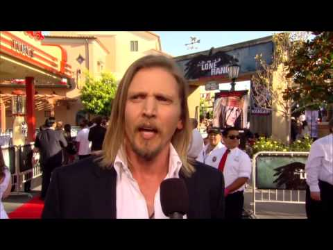 True Grit actor Barry Pepper who plays Captain Fuller in The Lone Ranger talks