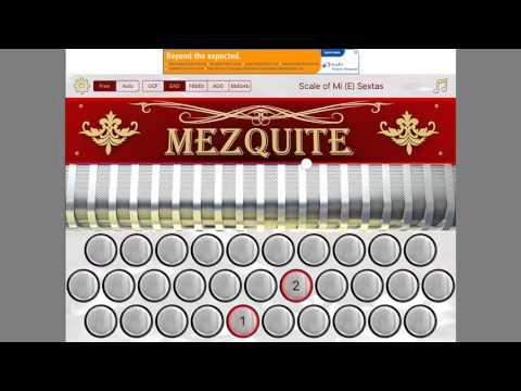 Ipad App gratis Acordeon,Mezquite accordion