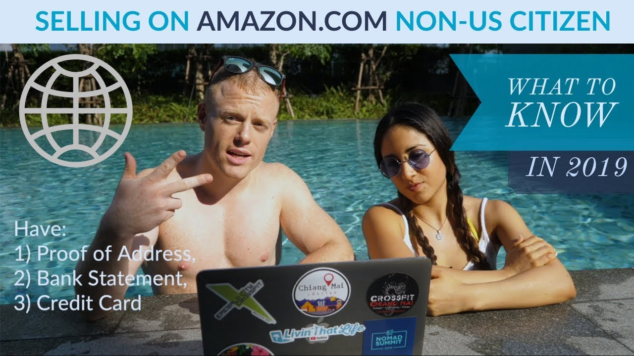 How to Sell on Amazon FBA as a non-US Citizen: Complete Guide  ? ft. Peruvian Girl Seller