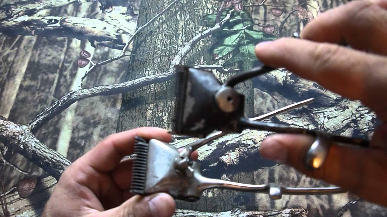 Ручная машинка для стрижки волос - YouTube