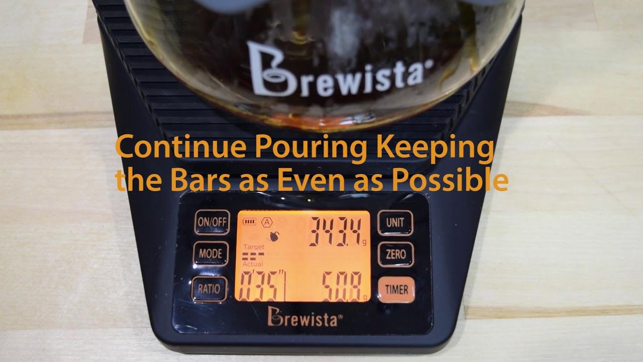 kommersiella kaffe bryggare vatten krok upp