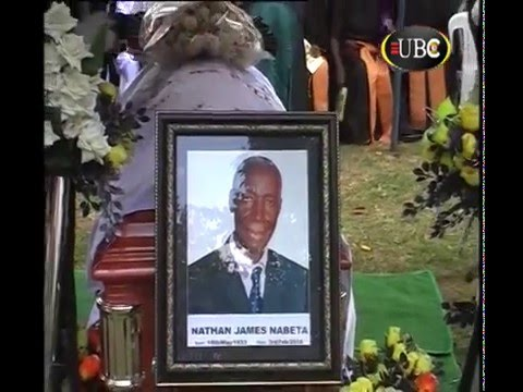 LATE JAMES NATHAN NABETA LAID TO REST IN JINJA