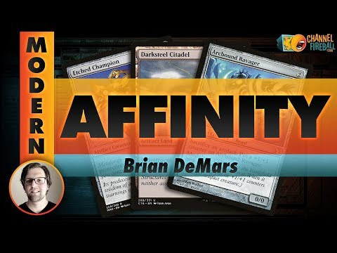 Channel DeMars - Modern Affinity (Deck Tech & Matches)