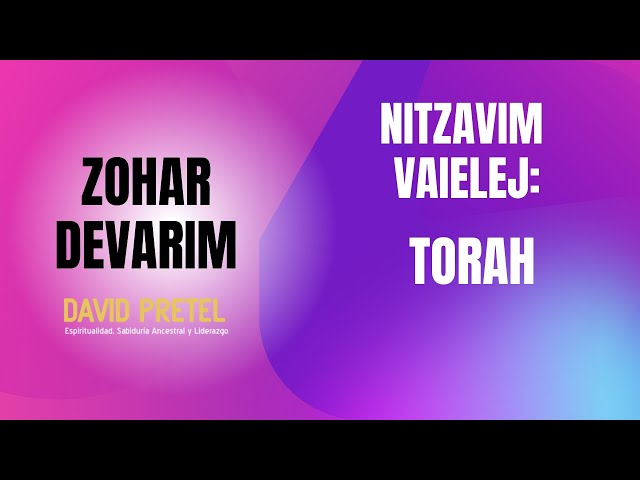 Nitzavim-Vaielej: La Torá