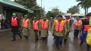 Phó Thủ tướng Trịnh Đình Dũng kiểm tra công tác phòng, chống bão Tembin tại Sóc Trăng