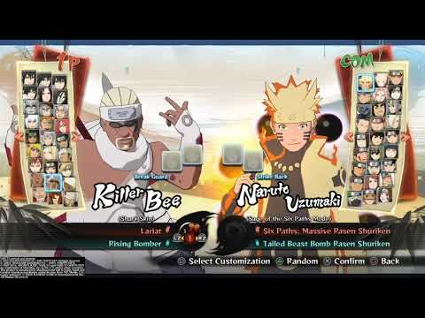Naruto Shippuden ultimate ninja storm 4 all characters (with out dlc) |