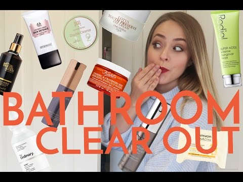 BEAUTY SPRING CLEAN: Decluttering My Bathroom