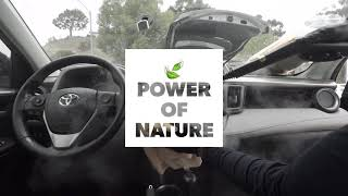 Power Of Nature | Car Interior Steam Cleaning Benefits