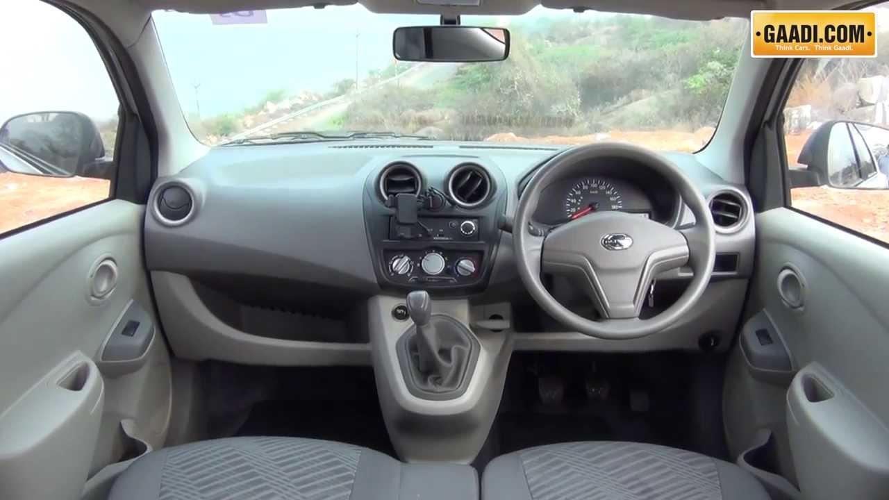 Datsun Go Interior - YouTube