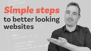 6 simple typography tips to more professional looking sites