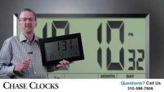 Discover This Amazing Large Display Atomic Wall Clock - Jumbo Display
