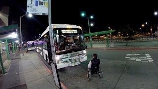 Man in Wheelchair Blocks Bus after Driver won