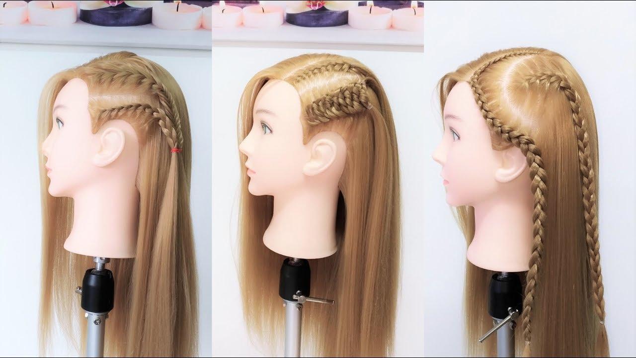 Peinados Con Trenzas Y Pelo Suelto Braid Hairstyles By Belleza Sin